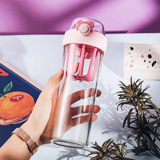 杯具熊摇摇杯健身运动水杯女蛋白粉奶昔杯男塑料便携水壶随手杯子