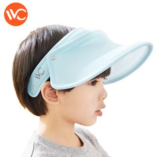 韩国VVC正品儿童防晒帽女神帽遮阳帽遮脸户外出游防紫外线太阳帽