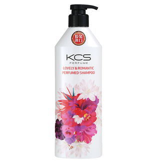 韩国进口 爱敬可希丝花香香水洗发水护发素 芳香保湿洗发露护发素 柔顺丝滑600ml