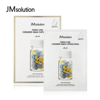 JMsolution肌司研 德玛神经酰胺水润保湿纱布jm面膜10片