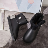 澳洲直邮 DK UGG/DK UGG 女士雪地靴 041S 秋冬新款 水晶颗粒后跟与水晶扣雪地靴