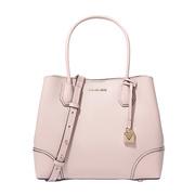 【香港直邮】Michael Kors 迈克·科尔斯 MERCER CORNER系列女士裸粉色牛皮手提包单肩包 30H7GZ5T6A-SOFTPINK