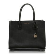 【香港直邮】Michael Kors 迈克·科尔斯 女士黑色皮革手提包单肩包 30F8GM9T7I-BLACK