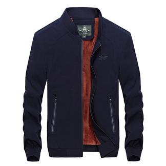 梵诗町 男士休闲外套夹克衫立领A夹克9853A加厚