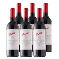 奔富 蔻兰山 澳洲原瓶进口红酒 设拉子赤霞珠干红葡萄酒 红酒整箱装750ml*6整箱