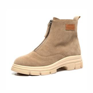 百田森9D050反皮休閑靴