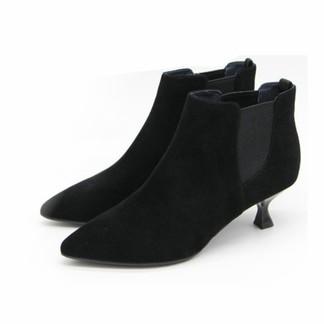 百田森 82116DU2DN9時尚牛皮小裸靴