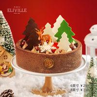 伊莉维尔 圣诞森林蛋糕/Christmas Forest
