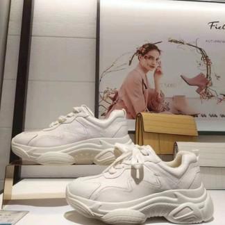 百田森 82257牛皮時尚老爹鞋