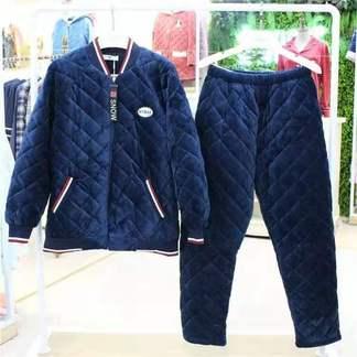 佰倫世家9J31036男士夾棉套裝