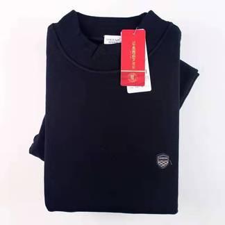 兄華55082-1加絨加厚中領男套裝