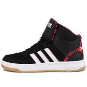 Adidas阿迪达斯板鞋男鞋2019冬季新款高帮篮球鞋休闲运动鞋BB9714