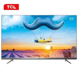 TCL彩电55D10 55英寸 4K超高清 远场语音 人工智能全面屏电视