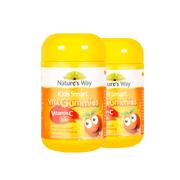 【2罐】【重庆保税】Nature's Way佳思敏维生素C+锌软糖60粒