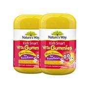 【2罐】【重庆保税】Nature's Way佳思敏偏食儿童复合维生素软糖60粒