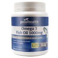 【新西兰直邮】新西兰好健康goodhealth 深海鱼油胶囊1000mg 400粒*2瓶