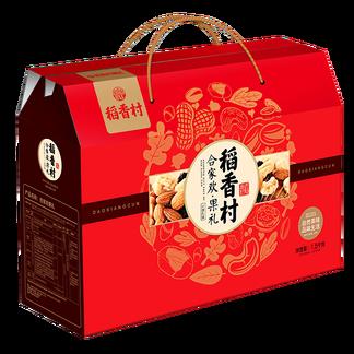 稻香村合家欢果礼干果礼盒1560g 稻香春干果年货礼盒 合家欢果礼1560g-干果礼盒1560g