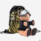 BUERBEAR布尔熊 《男人风尚》联名机车款 暖手熊 (送定制款充电宝)