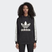 adidas阿迪达斯三叶草2019年女子HOODIE针织套衫卫衣DU4427