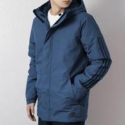 Adidas阿迪达斯男装2018秋冬季新款运动服休闲棉服保暖棉衣DZ1428
