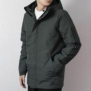 Adidas阿迪达斯棉服男装2019秋冬季新款防风棉袄运动服外套DZ1429
