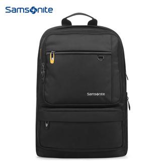 新秀丽双肩包男女电脑包14寸商务背包笔记本包Samsonite休闲包旅行包36B黑色