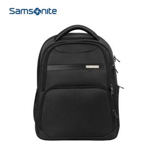 samsonite新秀丽39V双肩包通勤商务双肩背包电脑包大容量轻商务舒适挺阔 09*黑色