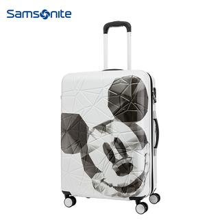 新秀丽拉杆箱男女行李箱万向轮旅行箱迪士尼卡通密码箱Sansonite AF9 白色20寸(米奇)