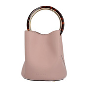 【香港直邮】Marni 女士粉色小牛皮手提包 SCMPU09NO1-LV589-00C20