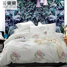花果果 GS系列 法式小清新 印花四件套 多款少女印花水洗棉四件套