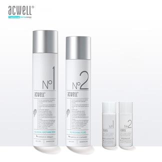 ACWELL艾珂薇水乳套盒N1水N2乳套装舒缓油痘肌控油保湿舒缓敏感