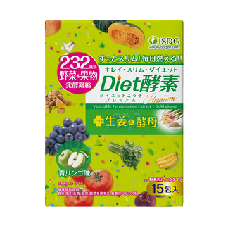 ISDG 日本进口232果蔬酵素粉   Diet酵素15袋/盒