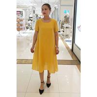 麗之依然 黃色連衣裙
