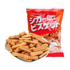 日本进口零食松永制果手指饼干小饼干曲奇饼干170gX2包