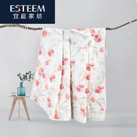 ESTEEM/宜庭  绮丽儿 绗缝毯 夏被两条(全棉)150*215/200*230