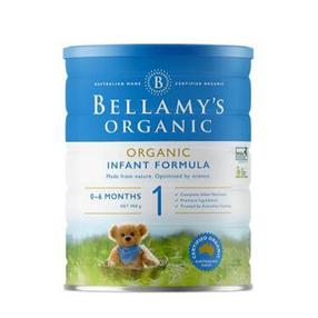 新包装【澳洲CC直邮】贝拉米Bellamy's 婴幼儿**奶粉1段 900g