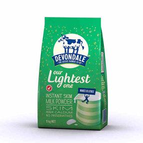 澳洲进口德运Devondale高钙脱脂中老年学生青少年成人奶粉1kg