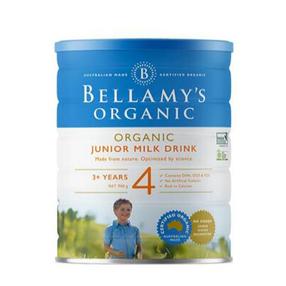 新包装【 澳洲CC直邮】贝拉米Bellamy's 婴幼儿**奶粉4段 900g