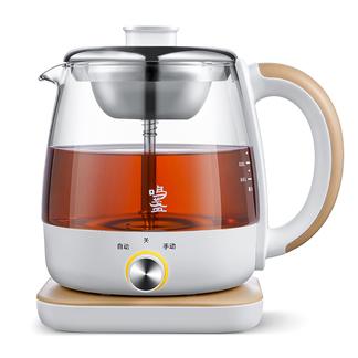 鸣盏MZ-073煮茶器黑茶养生壶全自动玻璃家用办公室小型多功能蒸汽煮茶壶
