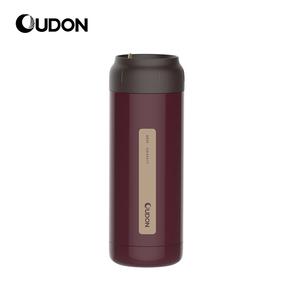 OUDON贝西系列易拉保温杯OD-40A17(容量:400ml;颜色:枣红色;产品主体材质:304不锈钢(食品用)、塑件:PP(食品用)、密封圈:硅胶(食品用))