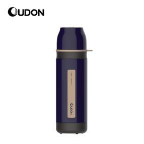 OUDON贝西系列保温瓶OB-35A17(容量:350ml;颜色:绀紫色;产品主体材质:304不锈钢(食品用)、塑件:PP(食品用)、密封圈:硅胶(食品用))