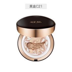 Age爱敬 精华拉花粉底气垫BB 21号色 黑盒