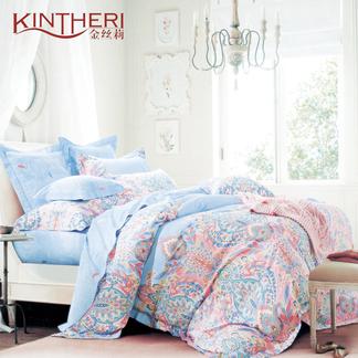 金丝莉 美的全棉四件套 - 凡尔赛花园 1.8-2米床适用