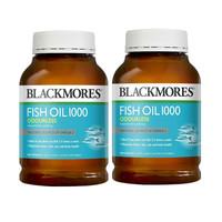 【澳洲直邮优选】BLACKMORES 澳佳宝 无腥味深海鱼油胶囊 1000mg 400粒/瓶