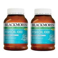 【澳洲直邮优选】BLACKMORES 澳佳宝 原味深海鱼油胶囊1000mg 400粒/瓶