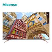 海信(Hisense)HZ65A65E 65英寸液晶电视 金属边框 香槟金 一体化机身