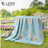罗莱LOVO 全棉春夏被-清晨淡雅1.5米-2米床适用