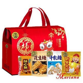 徐福记 鸿福齐天 礼盒2004g 单独包装 方便携带 随时随地分享-洪福齐天-2004g