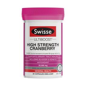 【澳洲直邮】Swisse斯维诗  高含量蔓越莓 30粒(到手周期15-20个工作日)