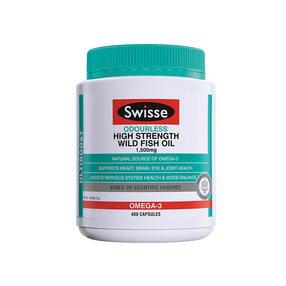 【澳洲直邮】Swisse斯维诗  无腥味深海鱼油1500mg含量 400粒(到手周期15-20个工作日)